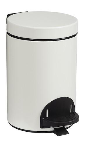 Rossignol witte prullenbak gemaakt van staal met een UV-bestendig poedercoating Rossignol 90113,90114