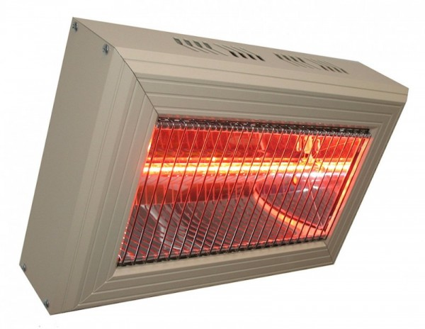 Qarz Heater from aluminium for indoor use - infrarot - in different sizes Heatlight Infrarot HLQ15G,HLQ30G,HLQ45G