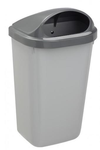 Rossignol Hygi'nische afvalemmer 50 liter voor de muur of paal bevestiging Rossignol 59861,59864,59866,59868
