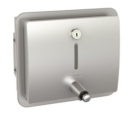 Chroomnikkelstaal zeepverdeler STRX619 geschikt voor vloeibare zeep van Franke Franke GmbH STRX619E