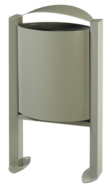 Arkea vuilnisbak 40L met voet en vergrendelingssysteem zonder asbak van Rossignol Rossignol 56305,56308,56309,56246