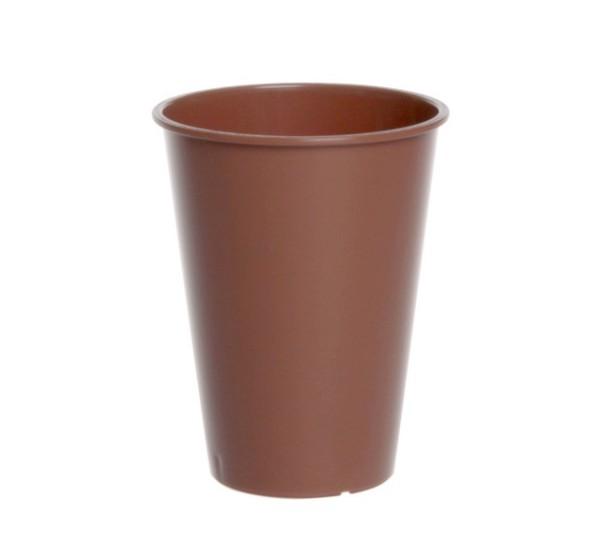 Plastic Koffie en Thee Cup 0,15l Doorzichtig of Bruin Schorm GmbH 9079,9079-1