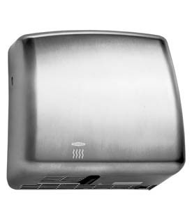 Bobrick B-715E Elan handdryer 230V stainless steel surface mounting with hand sensor Bobrick B-715E