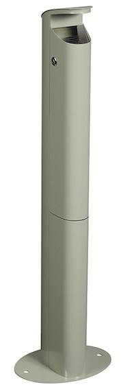 Koa staande asbak 2,5 L gemaakt van staal met anti-uv-coating van Rossignol Rossignol 56465,56468,56469,56598