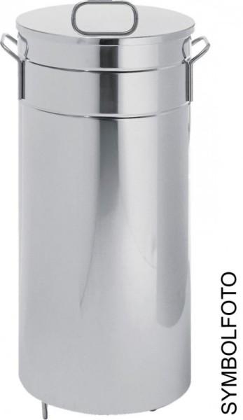Graepel G-Line Pro Americana Dustbin - 70lt or 90lt - Galvanized steel G-line Pro