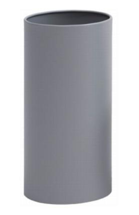 Hoogwaardige design zilver gelakt staal afvalbak of vuilnisbak Graepel G-Line G-line Pro K00021693,K00021695