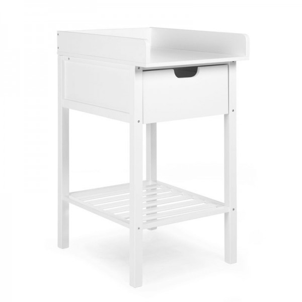 Childhome baby commode en babyverzorgingstafel met lade + badje + wielen CHTDSG,CHTDN,CHTDW