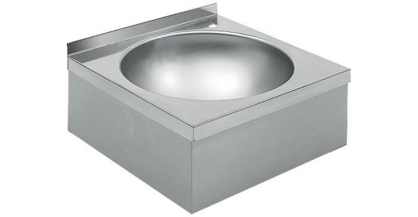 Franke wastafel WT450 gemaakt van chroomnikkelstaal voor wandmontage Franke GmbH WT450