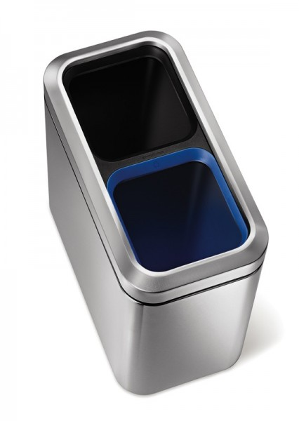 Slim Open Recycler, Simplehuman Simplehuman 10016689
