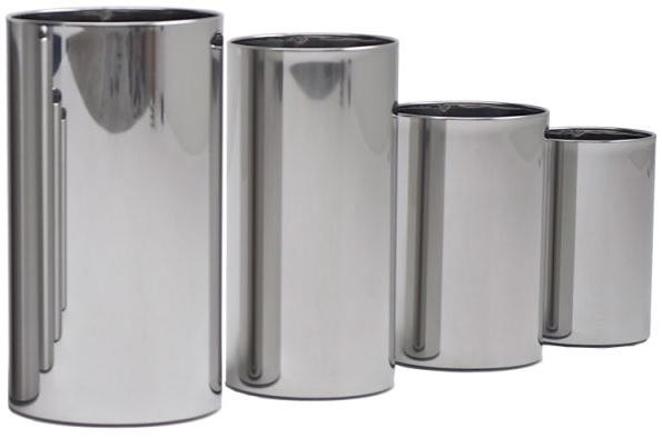Hoogwaardige design RvS afvalbak of vuilnisbak Graepel G-Line met een goede weerstand tegen corrosie G-line Pro 21630+21650+21670+21610