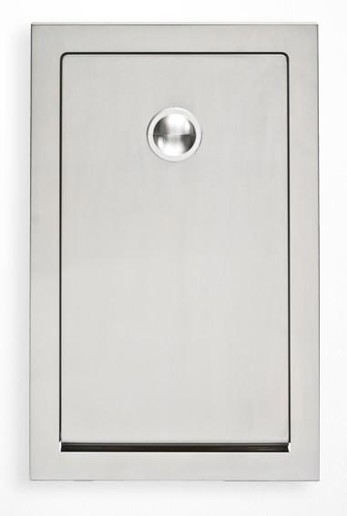 Vertikaal Inbouw MICROBAN¨ Technologie - Koala babyverschoonstation RVS KB111-SSRE Koala Kare Products KB111-SSRE