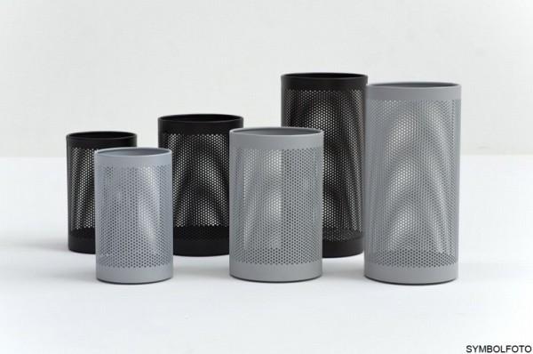 FORATO hoogwaardige design RvS zilver gelakt staal afvalbak of vuilnisbak Graepel G-Line Pro G-line Pro K00021193,K00021195