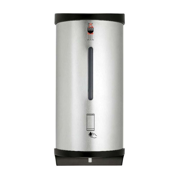 CleanLine soap dispenser for fluid soap made of brushed stainless steel from Dan Dryer Dan Dryer A/S 847