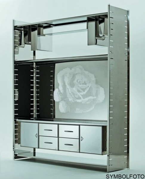 Graepel High Tech Edelstahl Kleiderhalter fŸr H2 oder H2 Giant Regalsystem Graepel Hightech K00089890