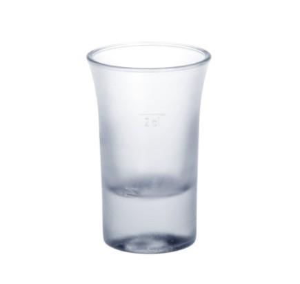 Shotglas matte 2cl B52 SAN van plastic zeer robuust en herbruikbaar Schorm GmbH 9054