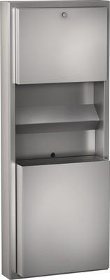 Franke drievoudige combinatie dispenser RODX617 roestvrij staal voor opbouwmontage Franke GmbH RODX617