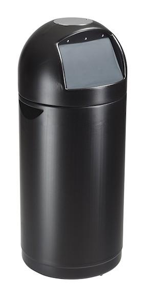 Zwarte Cytomax Vuilnisbak 52 L met hoofdband voor vuilniszakken van Rossignol Rossignol 58033