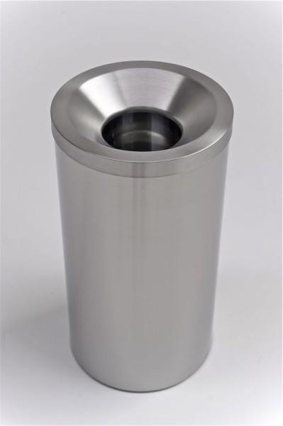 GRIZô hoogwaardige zelfdovende RvS afvalbak of vuilnisbak Graepel G-Line Pro, 2 verschillende maten G-line Pro K00021300,K00021310