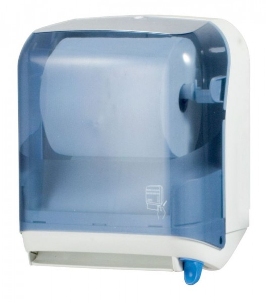 Marplast papertowel dispenser for paperroll made of plastic in transparent MP641 Marplast S.p.A. 641