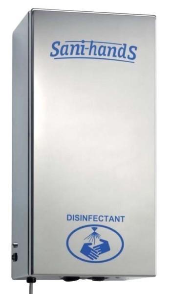 Electronic sproeiers voor een snelle en veilige hand desinfectie Gamar SH800