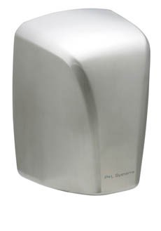 Hand dryer 1600w - Brushed stainless steel - Drying hands in 12-15 seconds Pelsis DP1600S