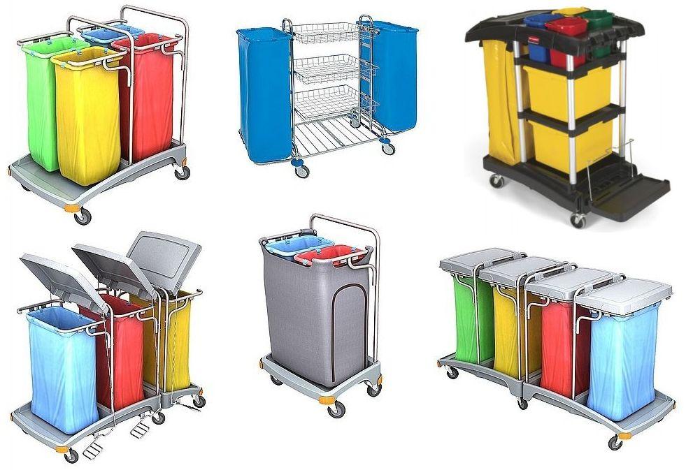 Afvalverzamelwagen-en-afval-trolleys