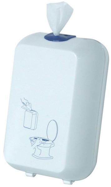 Toiletbril reinigingsdoek dispenser MP689 gemaakt van kunststof voor wandmontage Marplast S.p.A. 689,689