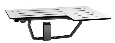 B-5181 surface mounted reversible solid Bobrick Folding Shower Seat of phenol resin Bobrick B-5181