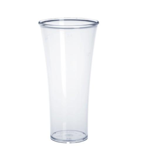 SET 22 stuks Elegance glas 0,3L van hoogwaardig kristal helder kunststof - Schorm GmbH 9009