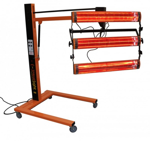 Heatlight infrared paint dryer 4500 watts with distance sensor - in 2 variants Heatlight Infrarot VLP45DS,VLP45DS-3P