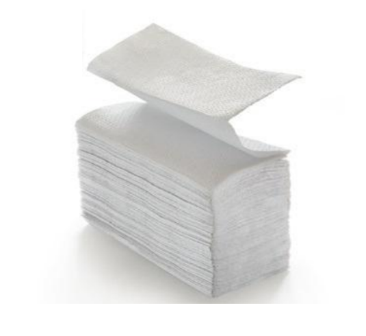Carton Paper towels 10133 W-Interfold - cellulose white - 2 lagig - recycling