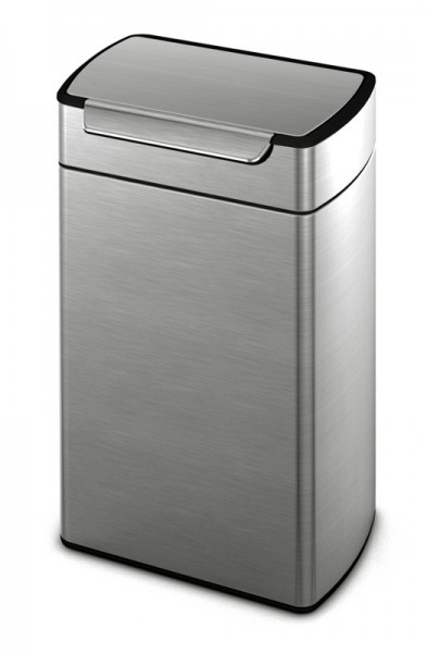Simplehuman Rectangular Touch-Bar Bin 40 liter gemaakt van roestvrijstaal Simplehuman 10015583