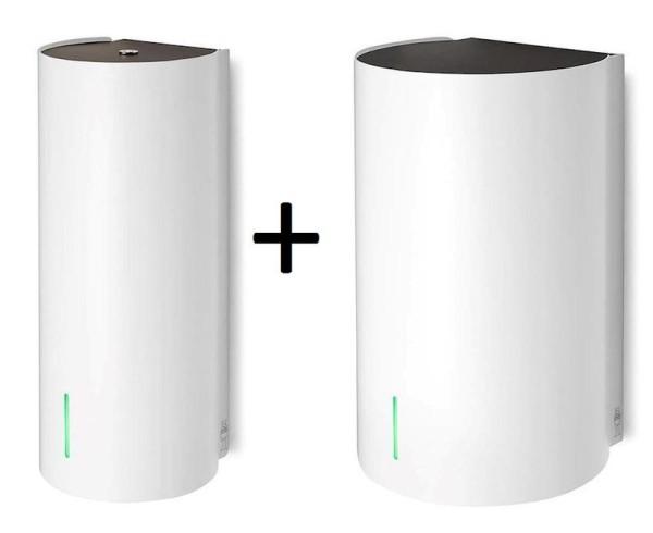 SET Dan Dryer Bjšrk handendroger 1600W EN dispenser voor zeep of desinfectant wit Dan Dryer A/S 3000,305