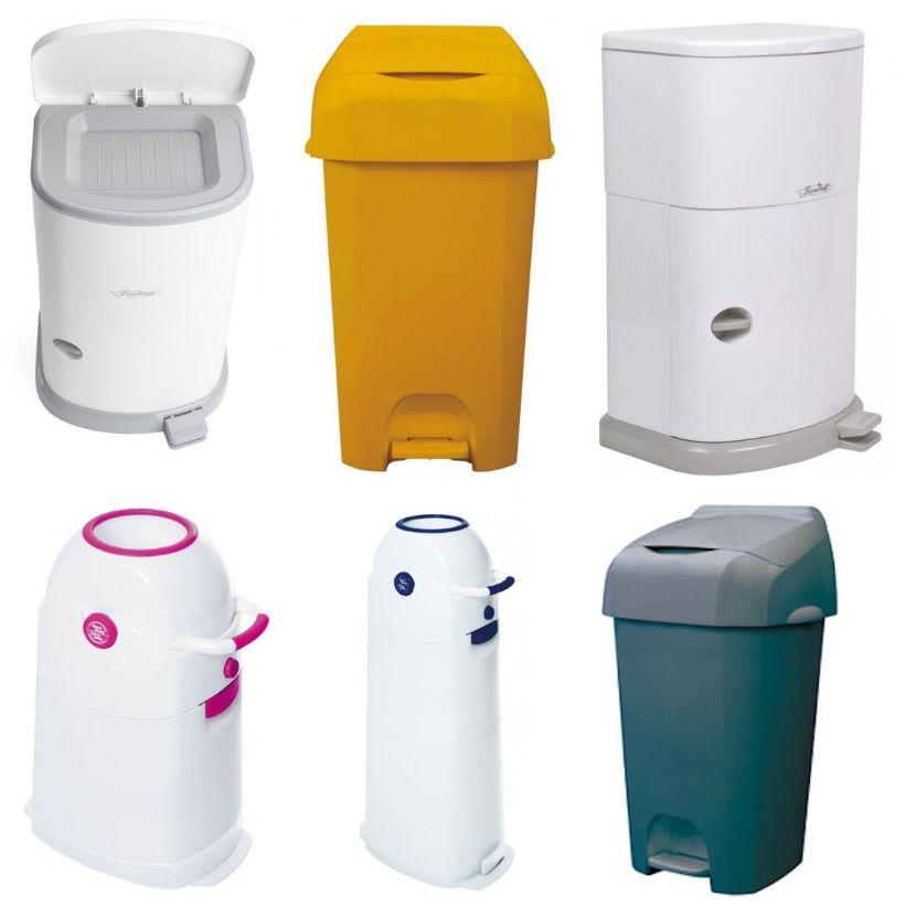 Incontinentie-afvalbak-Pedaalemmer-voor-incontinentiemateriaal