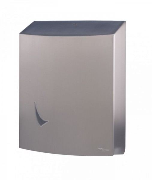 Toilet paper dispenser for 3 standard rolls from Wings Wings 4127