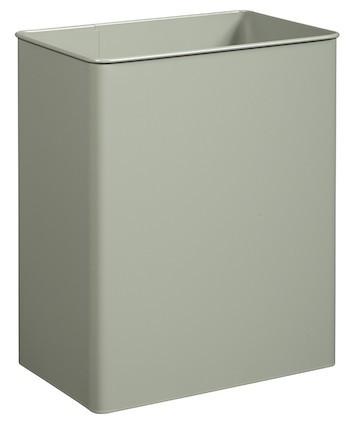 Rossignol Tourny vuilnisbak kantelbaar 27 L staal gepoedercoat in 3 kleuren Rossignol 58385,58388,58381