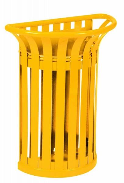 Tulipe prullenbak 35L gemaakt van staal verkrijgbaar in 7 kleuren van Rossignol Rossignol 57988,58375,58409,58432,58433,58413,58414