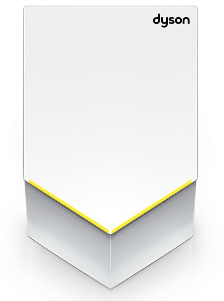 Dyson witte handendroger Airblade V is 35% stiller 1600W polycarbonaat behuizing AB12BLANC