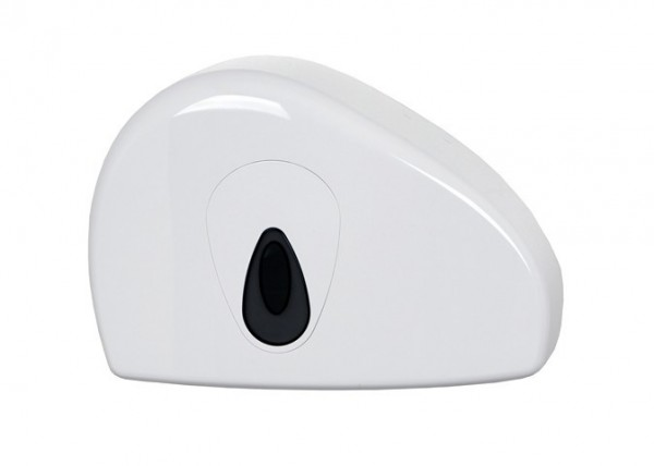 PlastiQline Mini jumboroldispenser met restrol voor wandmontage PlastiQ-line 5534