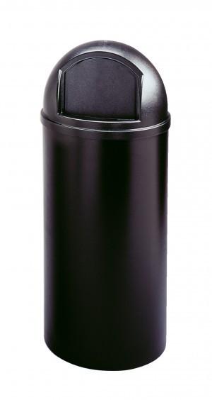 Beige of zwart 56,8 l Marshal¨ afval-container gemaakt van kunststof RUBBERMAID Rubbermaid RU FG816088BEIG