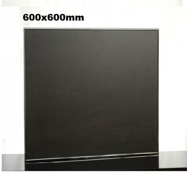 Keramiek verwarmingspaneel met alu frame en wandhouder van Elbo Elbo therm TA400,TA400