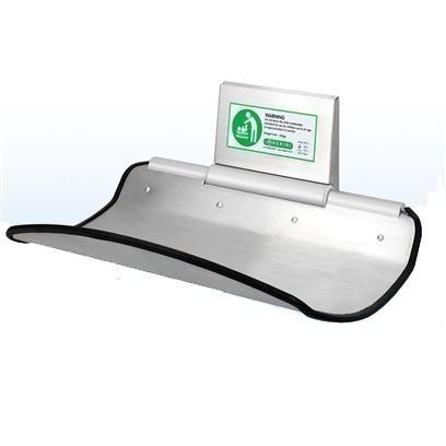 Babyverschoontafel van Aluminium en RVS - Elegant en een zeer hoge kwaliteit MC75
