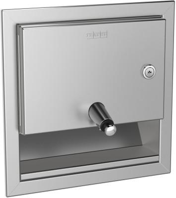 Franke zeepvdispenser RODX619E gemaakt van chroomnikkelstaal voor wandinbouw Franke GmbH RODX619E