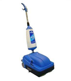 CIMEL Turbolava Facile 35 blauwe vloer scrubber met 2 borstels en zuigmond 640W Cimel-turbolava TUFacile35