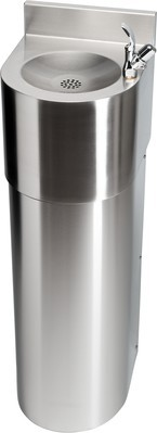 Franke chroomnikkelstaal drinkfontein ANMX303 voor wandmontage Franke GmbH ANMX303