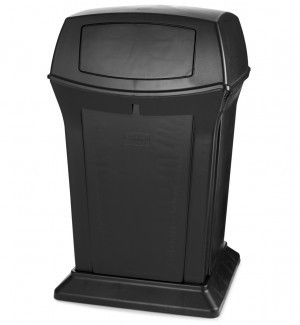 170,3 Liter container Ranger¨ in black or beige made of polyethylene RUBBERMAID Rubbermaid VB 009171