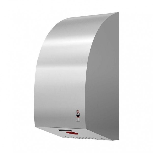 Turbo hand dryer 1600W with IR sensor and electronic timer from Dan Dryer