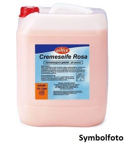 Eilfix Rose huidvriendelijke en hygi'nische crme handzeep voor zeepdispenser Becker 100280-008-000,100280-010-000