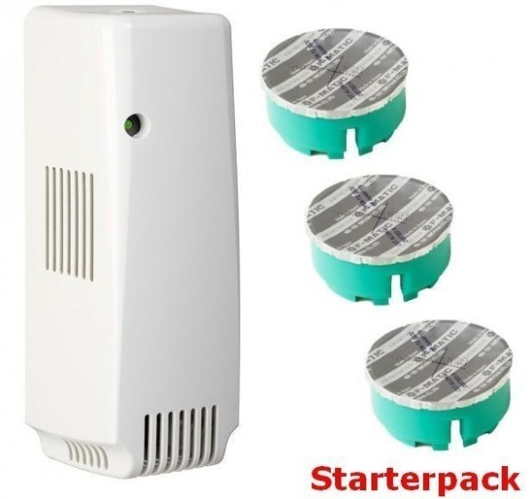 Smart Air dispenser Starterset, aerosolvrije dispenser