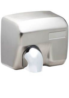 Hand dryer 2400w - Brushed stainess steel - Durable construction Pelsis DM2400S